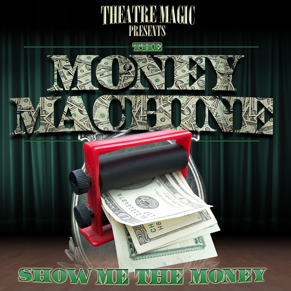 Home » Shop » $14 Kits » Money Machine: https://www.theatremagic.com/shop/product/14-dollar-kits/money-machine/