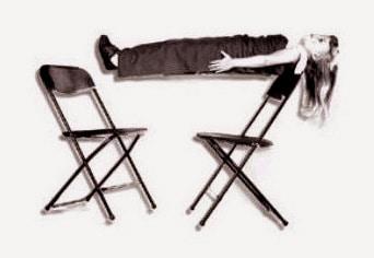 Chair Suspension Illusion
