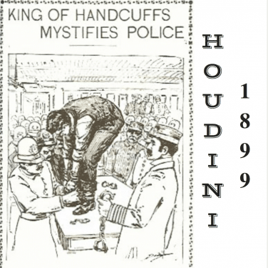 """Houdini King Of Handcuffs"""