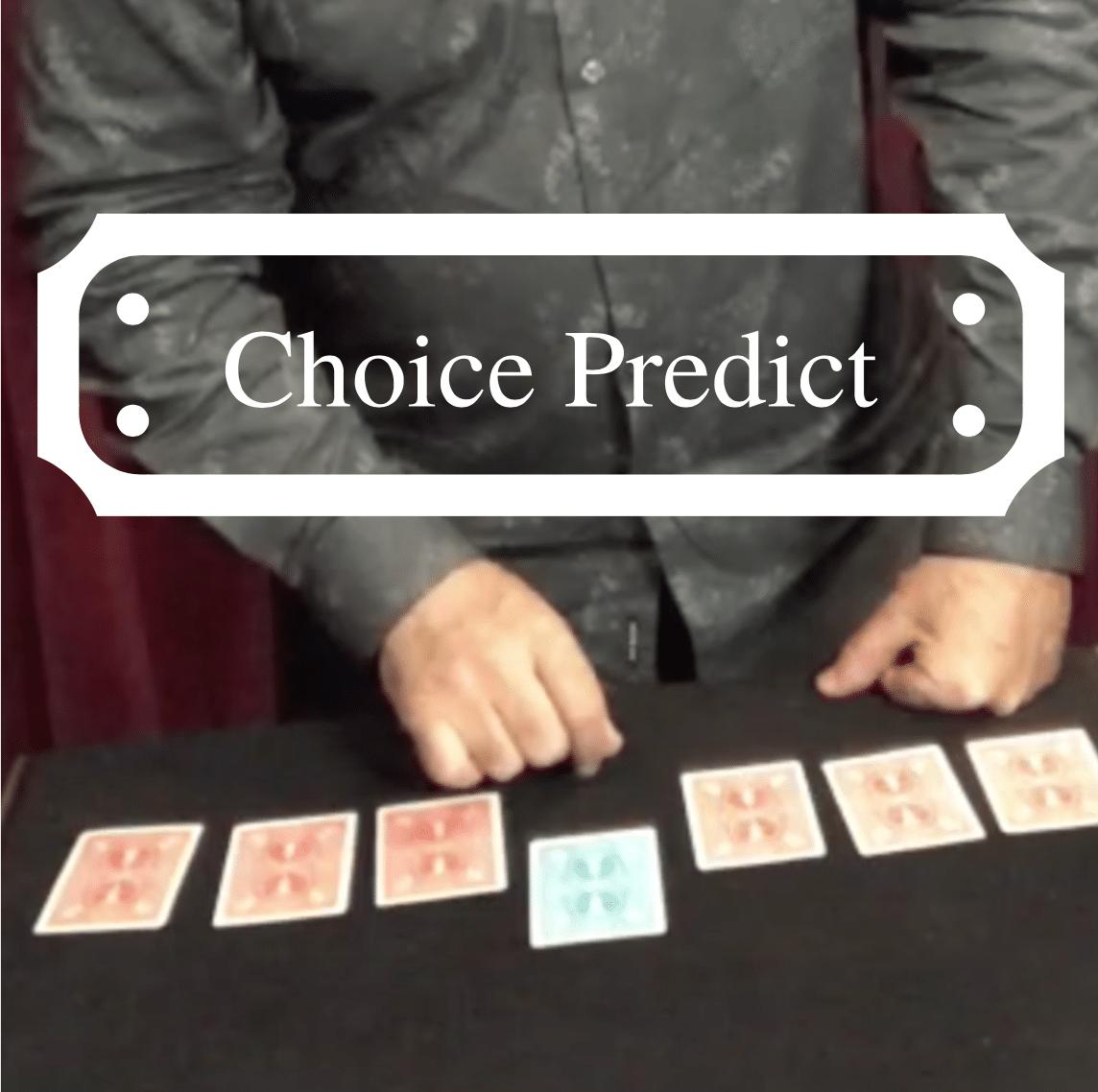 Choice Predict