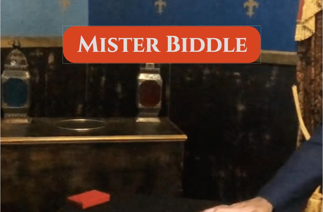Mister Biddle