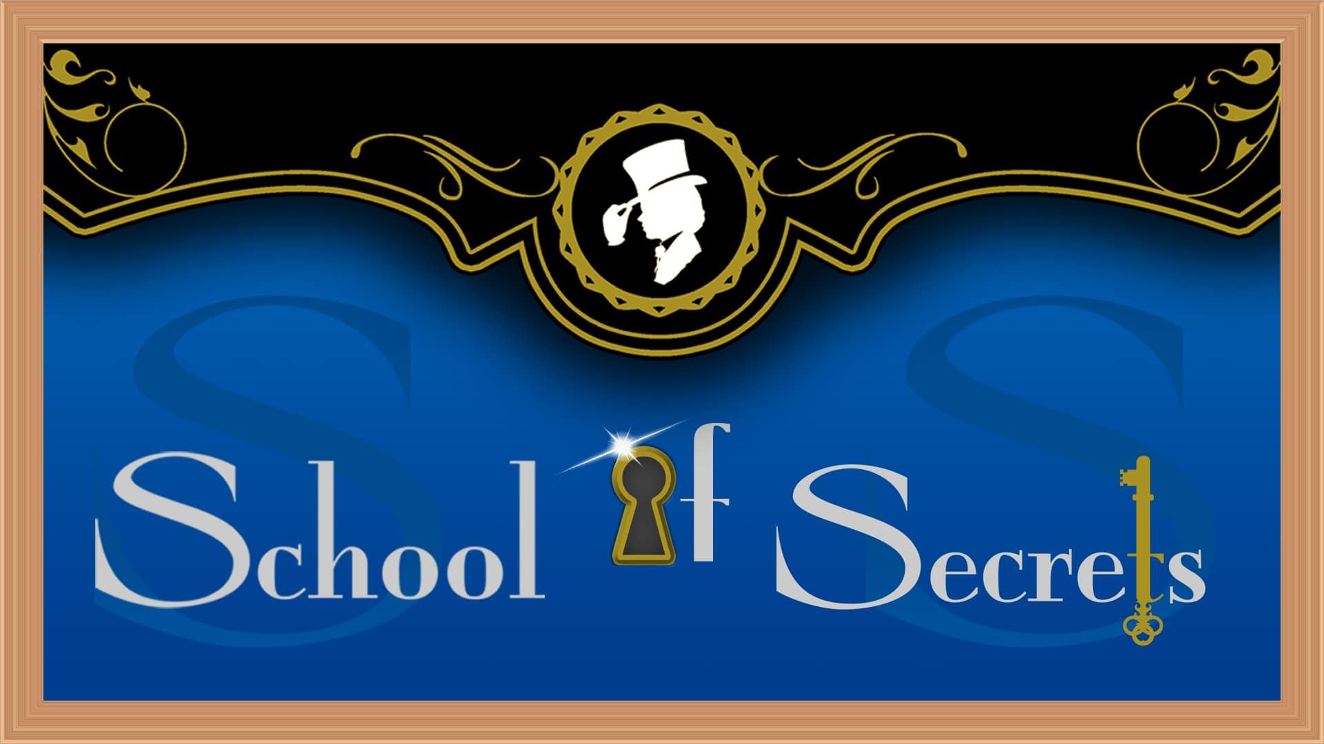 Schoolsecretslogoblue